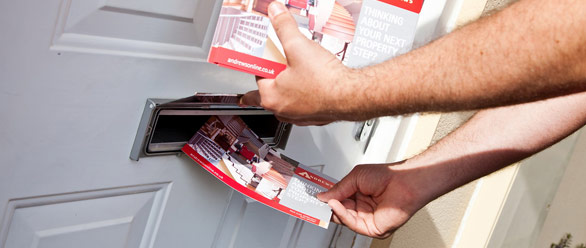 How many leaflets can you deliver in an hour?