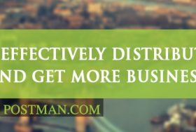 How to effectively distribute flyers and get more business