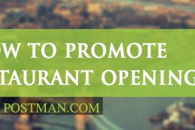 How to promote a restaurant opening