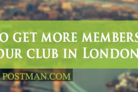 How to get more members for your club with local London leaflet distribution