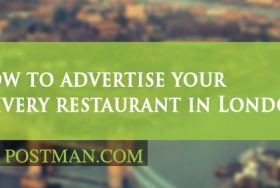 How to advertise your food delivery restaurant in London