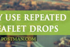 Why use repeated leaflet drops