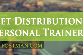 Leaflet distribution for personal trainers