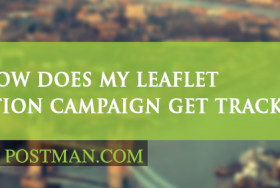 How does my leaflet distribution campaign get tracked