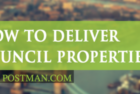 How to deliver leaflets to council properties