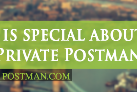 What is special about The Private Postman