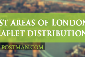 The best areas of London for leaflet distribution Part 5